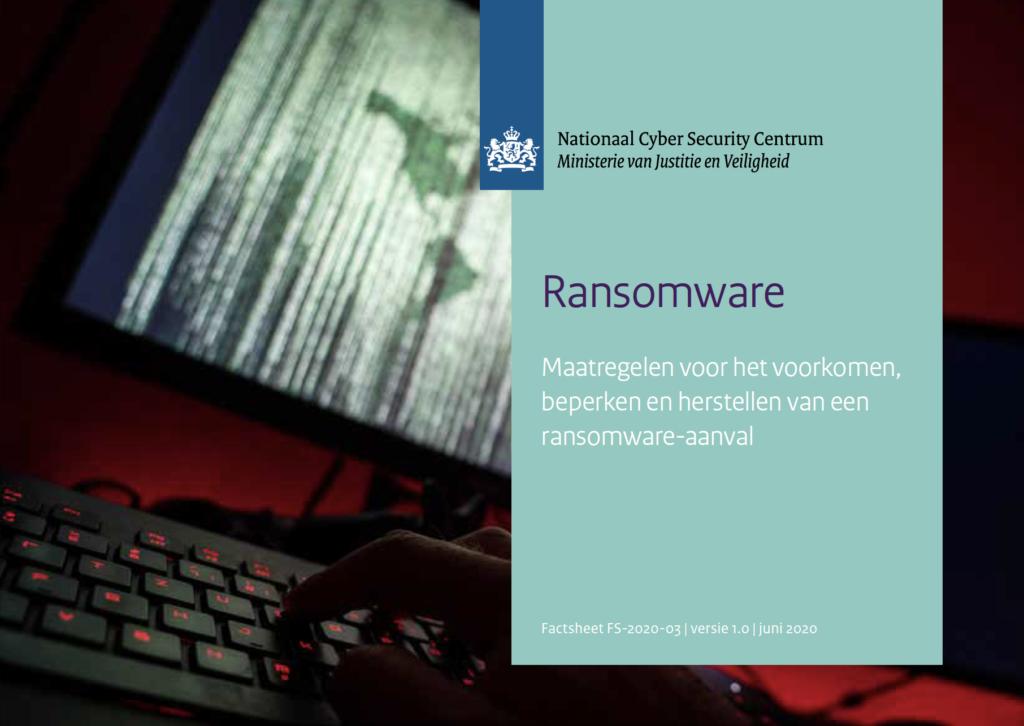 NCSC Ransomeware