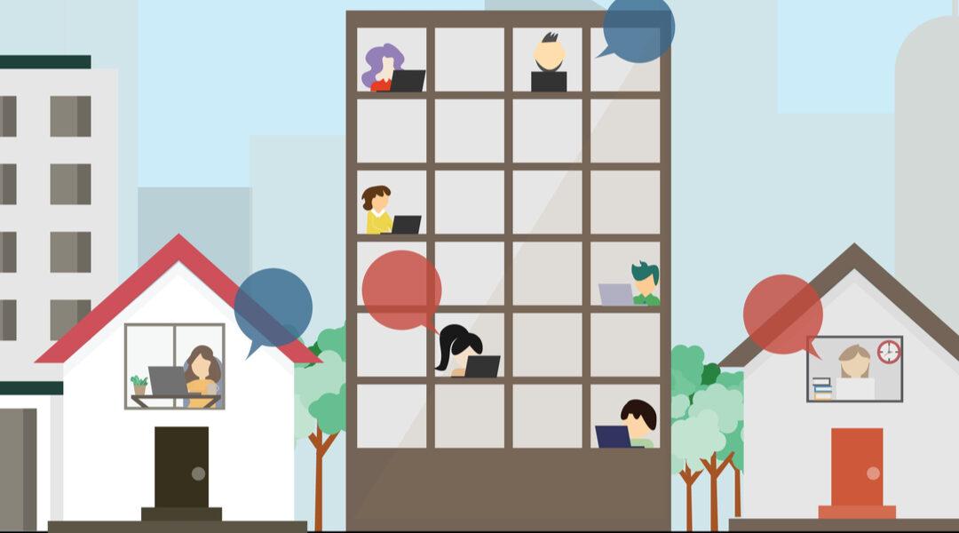 Hoe faciliteer je als woningcorporatie het thuiswerken?