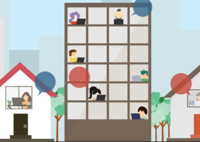 Webinar: thuiswerken faciliteren voor woningcorporatie