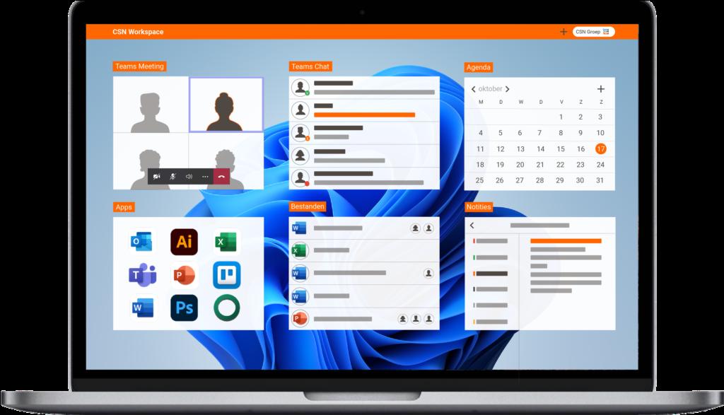 Workspace online werkplek
